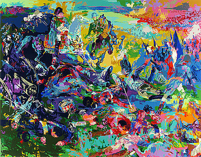 LeRoy Neiman, 'Napoleon at Waterloo', 1998, David Parker Gallery