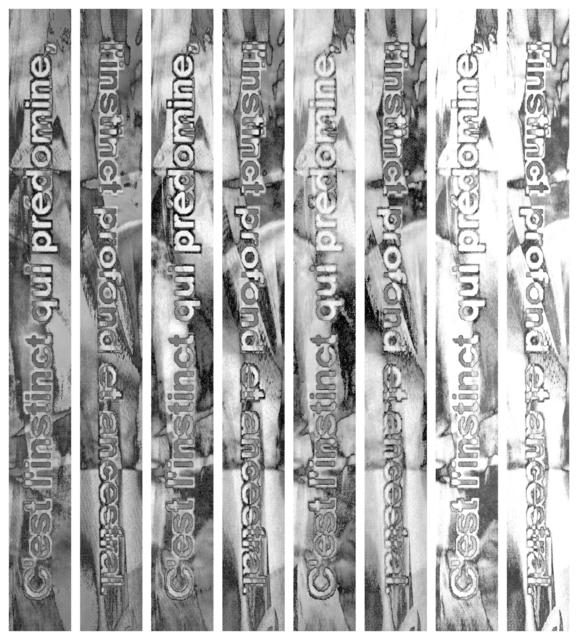 , 'Instinct (strates),' 2015, Galerie Marine Veilleux