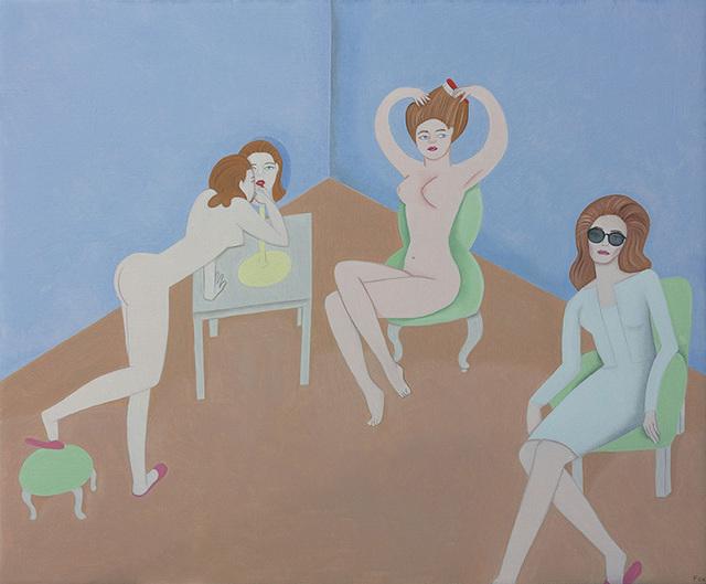 Elizabeth Fox, 'Dressing Room', 2014, Dolby Chadwick Gallery