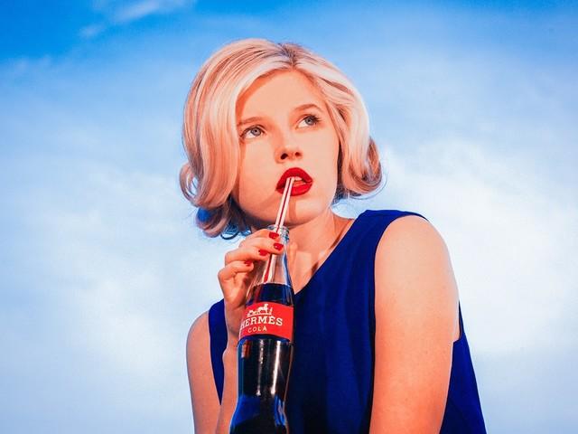Tyler Shields, 'Hermes Cola', 2015, Photography, Chromogenic Print on Kodak Endura Luster Paper, Isabella Garrucho Fine Art