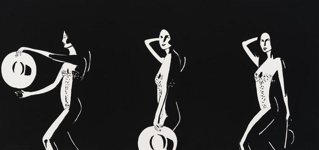 , 'Ariel (Black and White),' 2016, Meyerovich Gallery