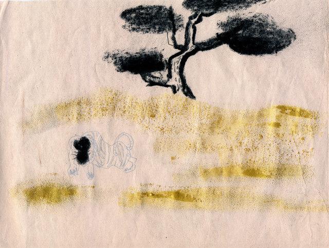 , 'Tiger,' 2019, Galerie Britta von Rettberg