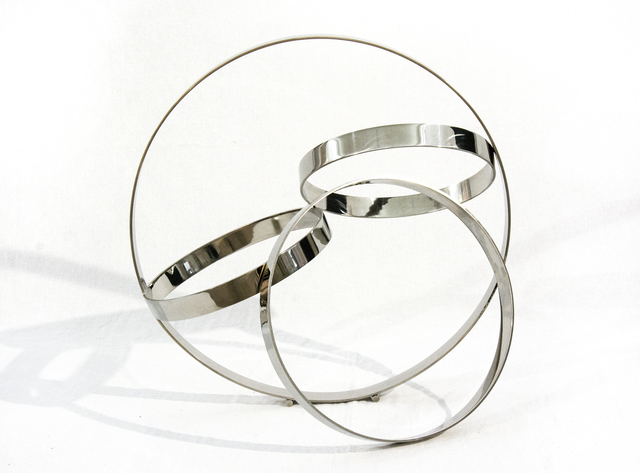 , 'Four Ring Polished Stainless Steel Temps Zero,' 2019, Oeno Gallery