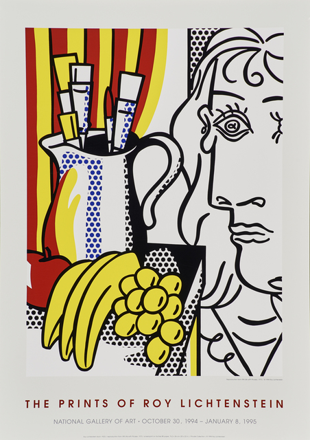 Roy Lichtenstein, 'Still Life with Picasso (National Gallery of Art)', 1973, Print, Screenprint in colors (issued in 1994), Rago/Wright