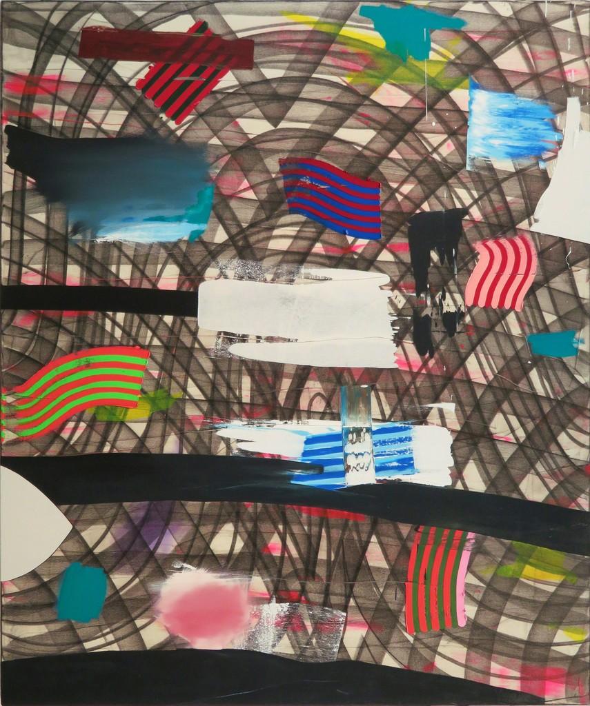 "Eric Sall, ""Bebop Legend"", oil on canvas, 72"" x 60"""