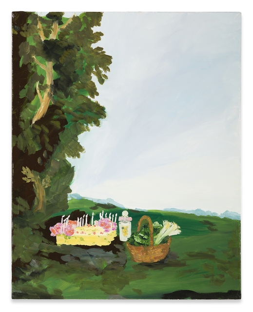 Karen Kilimnik, 'the goddess Artemis's afternoon snack, Moreton-on-marsh, the cotswolds', 2009, Sprüth Magers