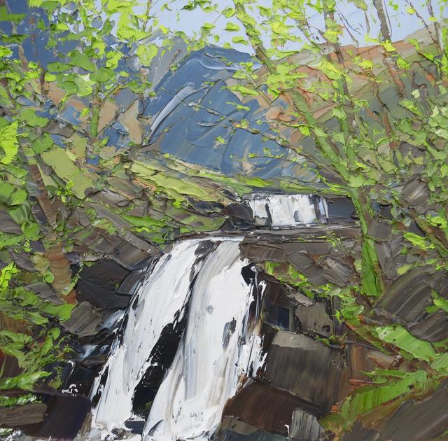 , 'Spring Falls, Brecon Beacons,' 2017, Thackeray Gallery