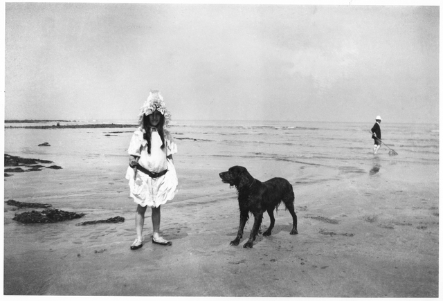 , 'Simone, Villerville,' 1904, The Photographers' Gallery