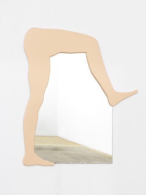 , 'Untitled Mirror (Bent Legs),' 2016, Johannes Vogt Gallery
