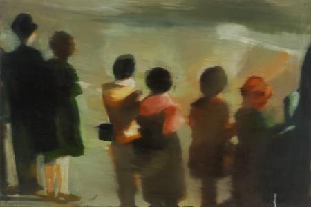 , 'Zaprudder Study,' 1995, Berggruen Gallery