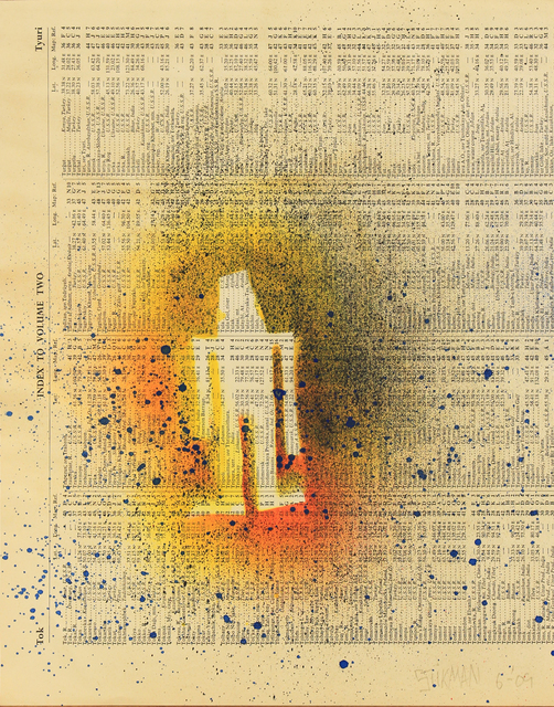 Stikman, 'Index Volume Two (Paint Blast)', 2005, Woodward Gallery