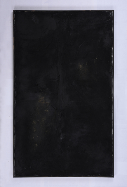 Shiro Tsujimura, 'Abstract Black', 2018, Kami ya Co., Ltd.