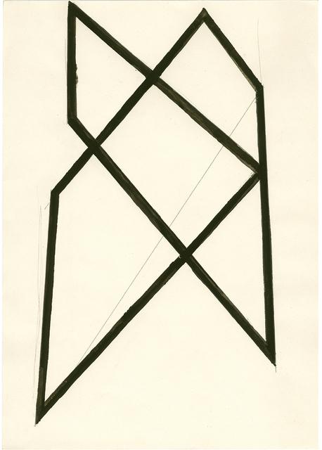 , 'Haus Struktur,' 1985, Galerie nächst St. Stephan Rosemarie Schwarzwälder