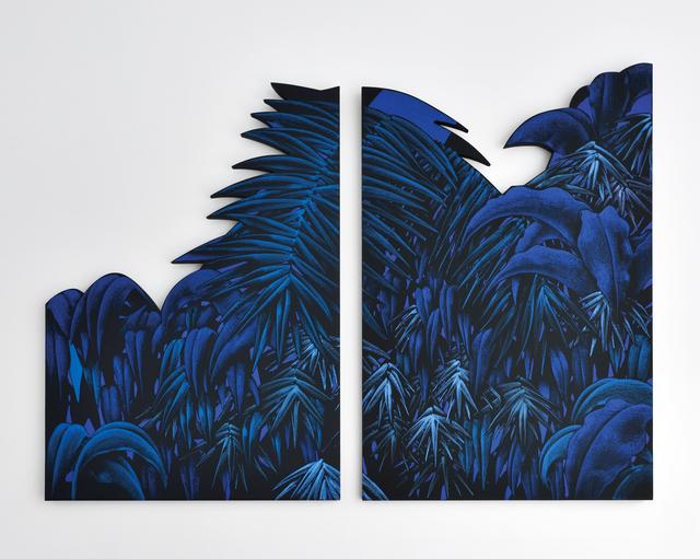 , 'Sans titre (Blue 1 & 2),' 2018, Le Feuvre & Roze
