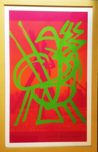 , 'Untitled Abstract Expressionist Silkscreen ,' 2000, Alpha 137 Gallery