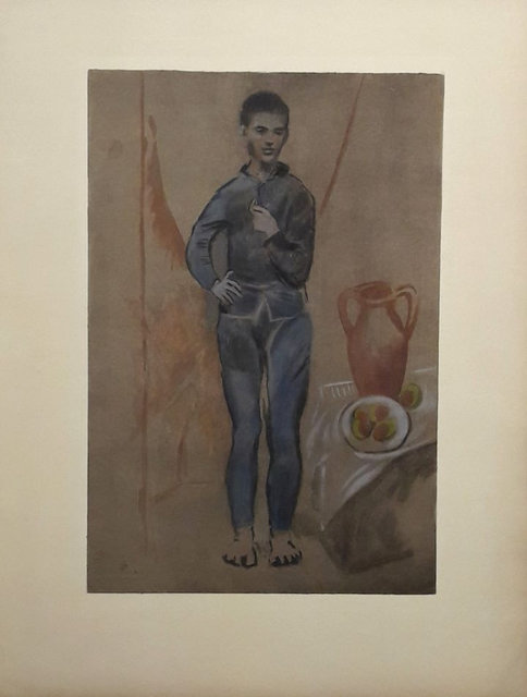 Pablo Picasso, 'Young boy in blue', ca. 1930, Plazzart