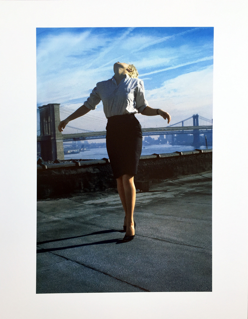 Robert Longo, 'Untitled (Cindy, from Men in the Cities series)', 2014, Hamilton-Selway Fine Art