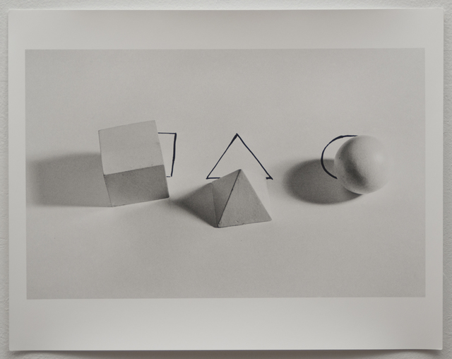 , 'Untitled (Geometric Shapes with Drawings 1973),' 2012, Mor Charpentier