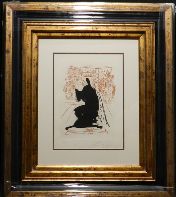 Salvador Dalí, 'La Vida es Sueno Figure in an Emine Cloak', 1973, Fine Art Acquisitions