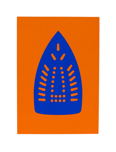 Willie Cole, 'Complementary Soles (Blue/Orange)', 2012, Highpoint Editions