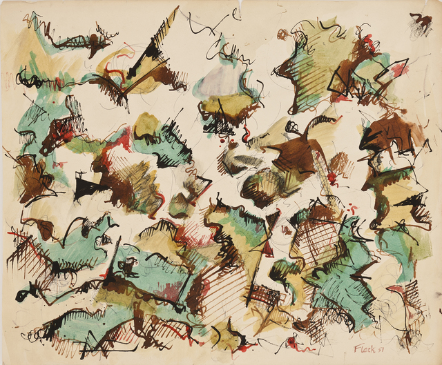 , 'Fern,' 1951, Hollis Taggart Galleries