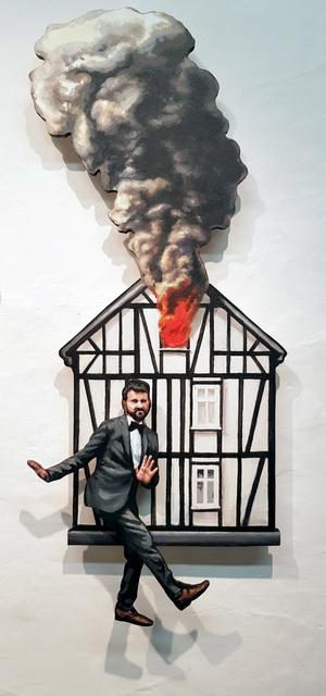 , 'Dios nos libre de pensar mal,' 2018, Galería Artizar