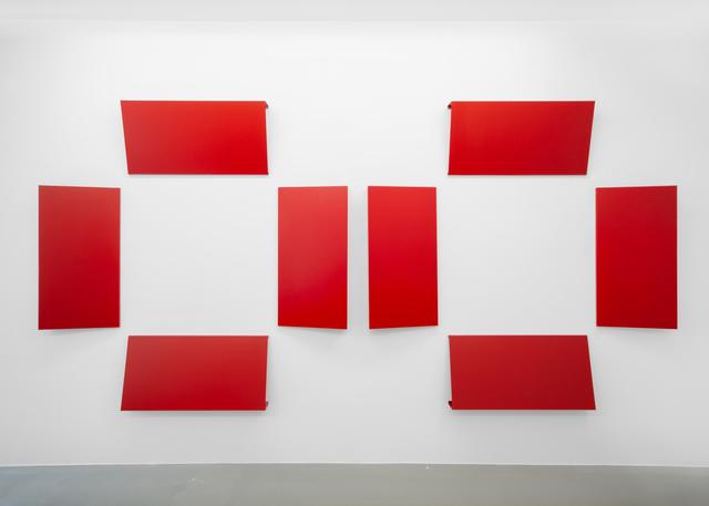 , 'Reliefs Serie-B,' 1967-2018, Galerie Mehdi Chouakri