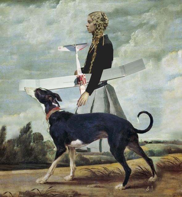 , 'Alice's plane,' 2016, Dan Gallery
