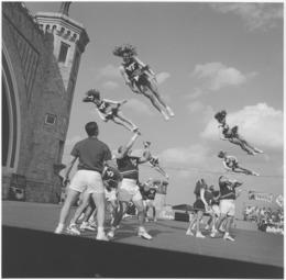 Toby Old, 'Cheerleaders, Daytona Beach, FL', 1988, Light Work