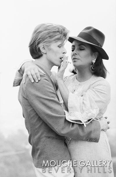 , 'David Bowie And Elizabeth Taylor, Los Angeles,' 1975, Mouche Gallery