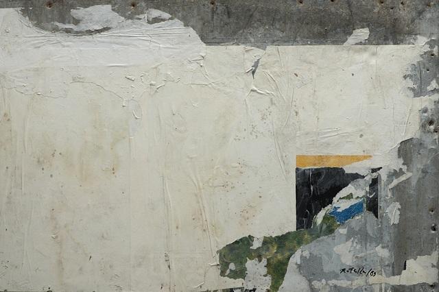 Mimmo Rotella, 'Una finestra nascosta', 1989, Finarte