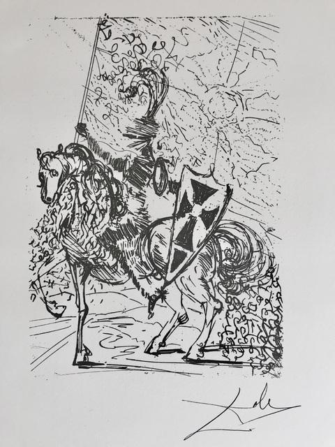 Salvador Dalí, 'Don quichotte', 1988, ByNewArt