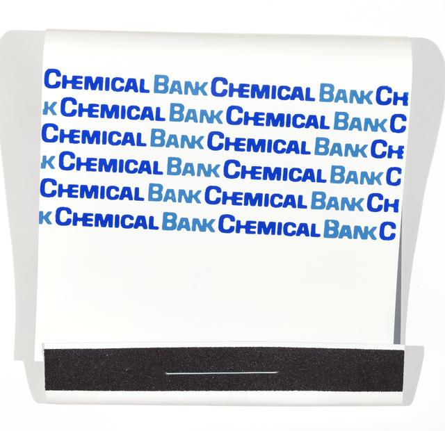 , 'Chemical Bank,' 2016, Jonathan Ferrara Gallery