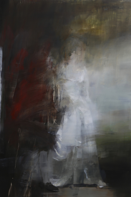 Jake Wood-Evans, 'Sir Christopher and Lady Sykes, after Romney', 2019, Unit London