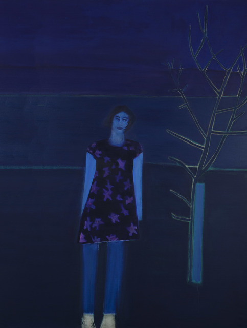 , 'Violetta Alone II,' 2015, Flowers