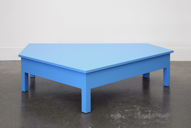 , 'A Simple Blue Coffee Table,' 2014, Lora Reynolds Gallery