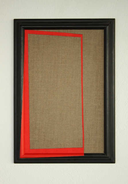 , 'En rojo,' 2017, Nueveochenta