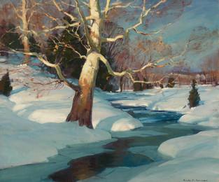 Frozen Meadow Stream