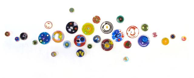 , 'Hypochondria, 30 pieces, Multicolored,' 2019, Cynthia Corbett Gallery