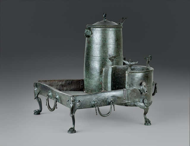 , 'Portable wine heater,' , Montreal Museum of Fine Arts