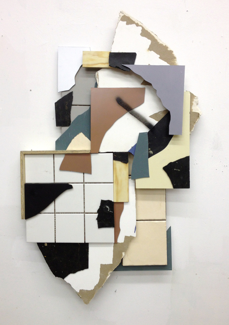 , 'Splitterrelief #1,' 2013, Gestalten