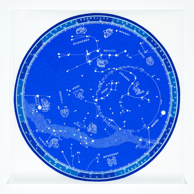 , 'Renaming the Constellations, Blue,' 2016, Erin Cluley Gallery
