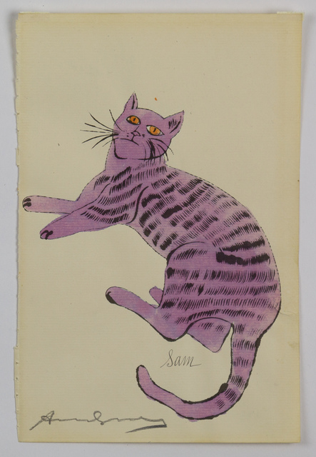 Andy Warhol, 'Purple Sam - from 25 Cats Named Sam and One Blue Pussy', 1954, Capsule Gallery Auction