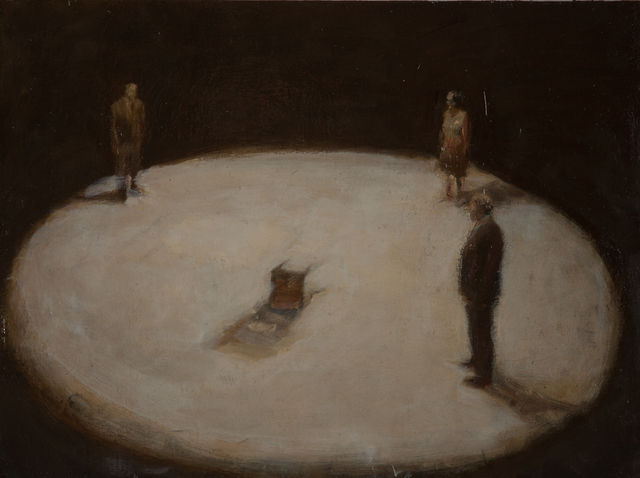 , 'Three in a Circle,' 2013, Slete Gallery