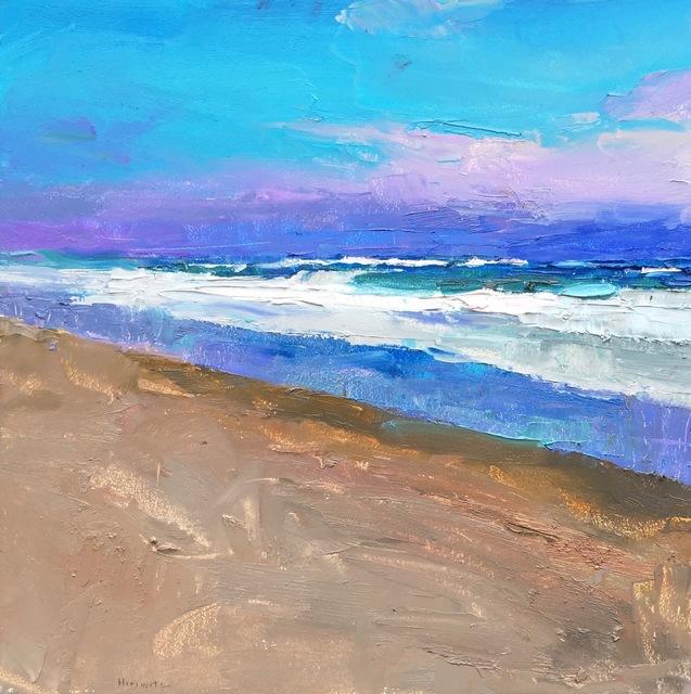 , 'Ocean Surf,' 2018, Eisenhauer Gallery