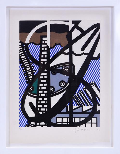 , 'Une Fenêtre ouverte sur Chicago, from La Nouvelle Chute de l'Amérique,' 1992, Shapero Modern