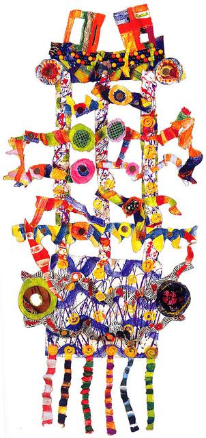 , 'Cellophane man,' 2003, Pacita Abad Art Estate