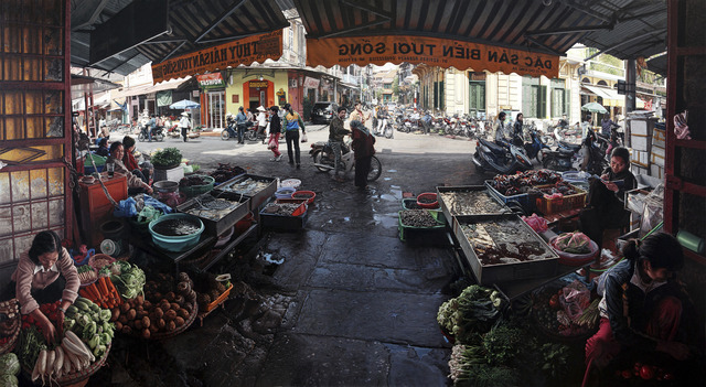 , 'Hanoi Market 2.0,' 2015, Louis K. Meisel Gallery