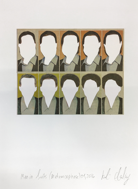 , 'Men in Suits (Metamorphose No.1),' 2016, Rosenfeld Gallery