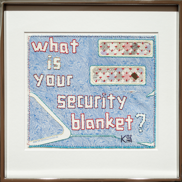, 'What is Your Security Blanket?,' 2017, Paradigm Gallery + Studio